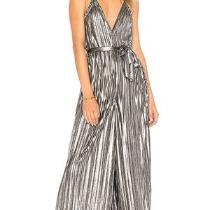 METALLIC JUMPSUIT BY SAYLOR FROM REVOLVE SMALL!